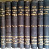Lot carti vechi de drept civil in limba germana 1904-1914