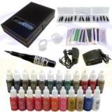 Aparat de tatuat cosmetic full,makeup kit tattoo