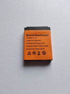 Baterie Ceas  Smartwatch DZ09 ,  380mha, Nou 2018