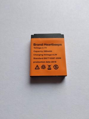 Baterie Ceas  Smartwatch DZ09 ,  380mha, Nou 2018 foto