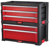Biblioteca Curver TOOL CHEST SET 5 sertare / Regał Curver TOOL CHEST SET 5 szuflad - TT16933