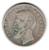 * Moneda 1 leu 1900 - 403, Argint