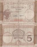 1926, 5 francs (P-36b.2) - Noua Caledonie! (CRC: 44%)