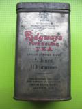 Ridgays Five o' clock tea cutie veche ceai Anglia. Marimi: 11/ patratic 6.5 cm.