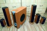 Sistem audio Home Cinema 5.1 - Point HT-100 (160 W RMS) + Telecomanda, 40-300 W