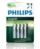 PHILIPS R03 / AAA LONGLIFE B4 Longlife (R03L4B / 10)/PHILIPS R03/ AAA LONGLIFE B4 LongLife (R03L4B/10) - CM19327