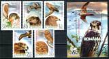Romania 2007, LP 1760 + 1761, Pasari de prada, serie + colita, MNH! LP 16,30 lei, Fauna, Nestampilat