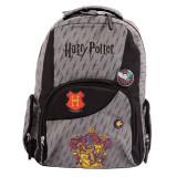 Ghiozdan Harry Potter, adolescenti clasele 5-8, gri, Pigna