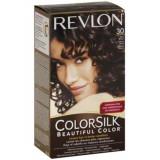 Vopsea de par ColorSilk, 30 Dark Brown, 100 ml, Revlon