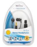 Casti Esperanza EH124 (Negru)/ESPERANZA IN-EAR HEADPHONES STEREO EH124 - CM19498