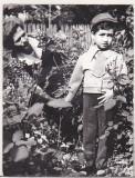 bnk foto - Copil in uniforma de soim al patriei - 1984