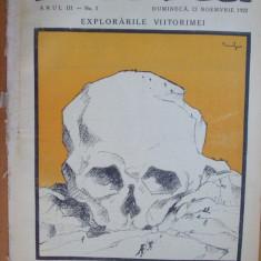 Hiena 1922 noiembrie 12 Desene Tonitza Victor Ion Popa Slavici Șeicaru Motru