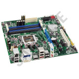 Placa de baza Intel DQ57TM, Socket LGA1156, 4x DDR3, PCI-Express x16, DVI,..., Pentru INTEL, DDR 3