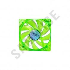 Ventilator DeepCool XFAN 120U BB Green LED 120mm