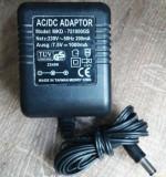 Alimentator cu transformator 7.5V 1000ma AC