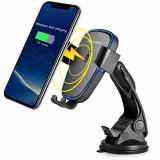 Suport telefon cu incarcator wireless. COD: 895, De masina
