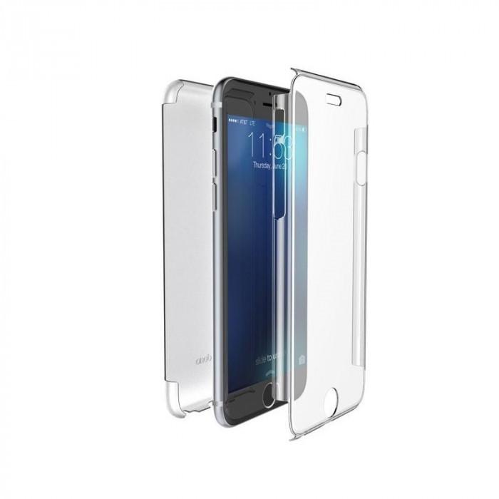 Husa SAMSUNG Galaxy S7 Edge - 360 Grade (Fata Silicon/Spate Plastic)