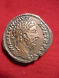 Sestert Antoninus Augustus -Copie veche ,bronz ,d= 3cm