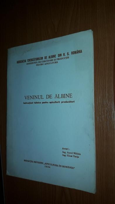 VENINUL DE ALBINE - INSTRUCTIUNI TEHNICE PENTRU APICULTORI PRODUCATORI .