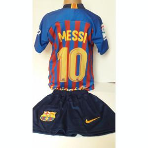 Echipamen fotbal pentru copii FC.Barcelona Messi  model nou