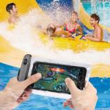 Husa Subacvatica Waterproof Tip Punga Impermeabila iPhone Roz