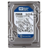 Hard Disk 250GB Western Digital Blue, SATA3, WD2500AAKX, 200-499 GB, 7200, SATA 3, Western Digital