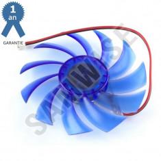 Ventilator Placa Video, 75x10mm, 2-pin
