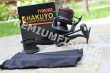 Mulineta Hakuyo YH 8000 2 Tamburi Fire Subtiri Groase Rulmenti 8 Long Shoot, Crap