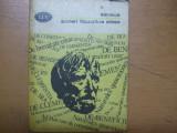 Seneca Scrieri filosofice alese Bucuresti 1981