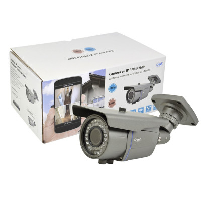 Resigilat : Camera supraveghere video PNI IP2MP 1080P cu IP varifocala 2.8 - 12 mm foto