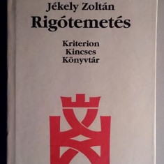 Rigotemetes /Versuri  - Jekely Zoltan