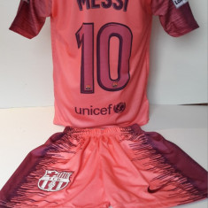 Echipament fotbal pentru copii FC.Barcelona Messi  model nou 2018, Alta