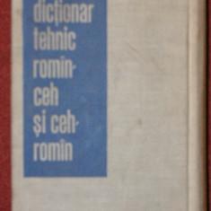 Dictionar tehnic ceh - roman, roman - ceh