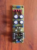 Sursa stabilizata reglabila +/- 15V preamplificatoare