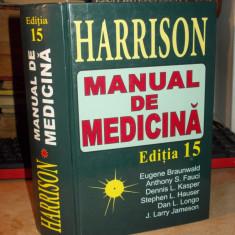 HARRISON_MANUAL DE MEDICINA , EUGENE BRAUNWALD - EDITIA 15 - 2002