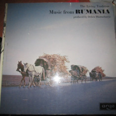 Vinil nou music from rumania made in england editie limitata d1