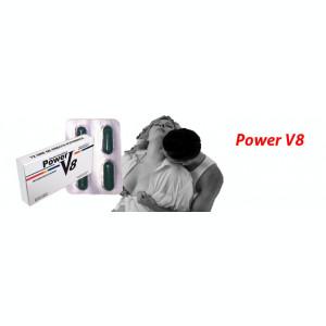 PASTILE POTENTA POWER V8 5buc ,ERECTIE,EJACULARE PRECOCE,PREMATURA,IMPOTENTA,