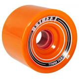 Set 4 roti longboard D Street Fly 72mm/78A portocalii