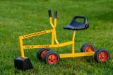 Excavator cu roti pentru copii X-TRAVATOR cu roata rosie
