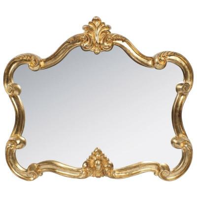 Oglinda din rasina Antique Gold 80x70 foto