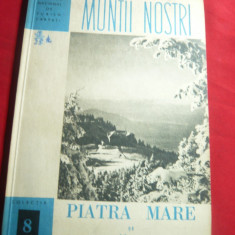 ONT Carpati- Colectia Muntii Nostri nr.8 -Piatra Mare si Postavaru ,cu 3+1 harti