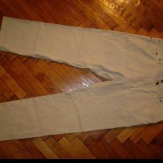 """Pantaloni  Pierre Cardin """"Deauville""""-Marimea W36xL30 (talie-93cm,lungime-101 cm), 36, Bej, Lungi"""