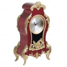 Ceas de masa Vintage Burgundy 30cm