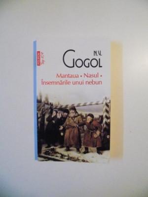 MANTAUA , NASUL , INSEMNARILE UNUI NEBUN de .N.V. GOGOL , 2012 foto