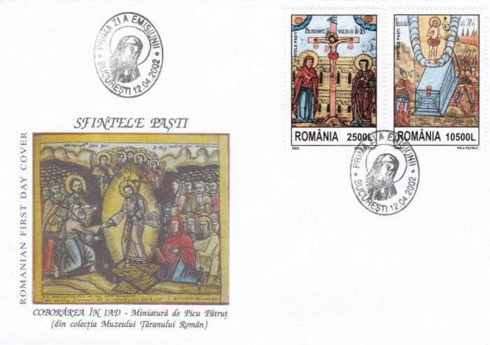 ROMANIA 2002  LP 1583  SFINTELE PASTI  FDC