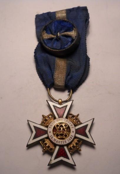 Ordinul Coroana Romaniei Ofiter Civil Model 2 foto mare