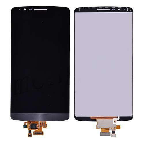 Display LG G3 D850 D855 D852 Cu Touchscreen Si Geam Gri foto mare