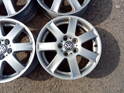 JANTE RIAL 16 5X112 VW GOLF 5 6 7 SHARAN TOURAN SKODA SI ALTELE foto