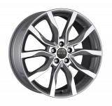 Jante SEAT LEON 8J x 18 Inch 5X112 et42 - Mak Koln Silver, 8, 5