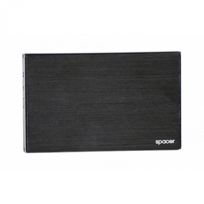 Rack extern Spacer 2.5 inch USB 3.0 Negru foto mare